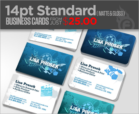 14pt standard bcs for the money business cards are probably the most impactful sales tool you can bring with you to any first meeting with a client reheart Choice Image