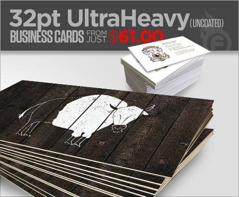 32pt UltraHeavy BC's