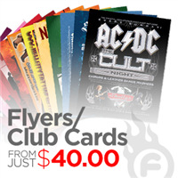 14pt Flyers / Club Cards